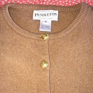 Pendleton Button Front Wool Cardigan